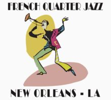 Mardi Gras French Quarter Jazz by HolidayT-Shirts