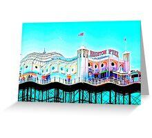 Brighton Pier, Brighton, England Greeting Card