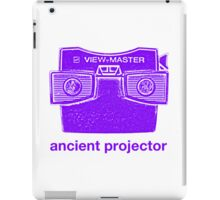 Ancient Projector iPad Case/Skin