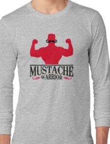Mustache Warrior Long Sleeve T-Shirt