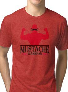 Mustache Warrior Tri-blend T-Shirt