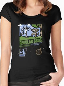 Regular Bros Women's Fitted Scoop T-Shirt