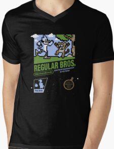 Regular Bros Mens V-Neck T-Shirt