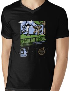 Regular Bros Mens V-Neck T-Shirt