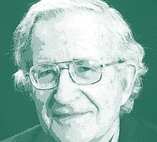 celebrities noam chomsky 2 by Adam Asar
