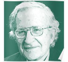 celebrities noam chomsky 2 Poster