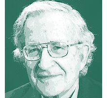 celebrities noam chomsky 2 Photographic Print