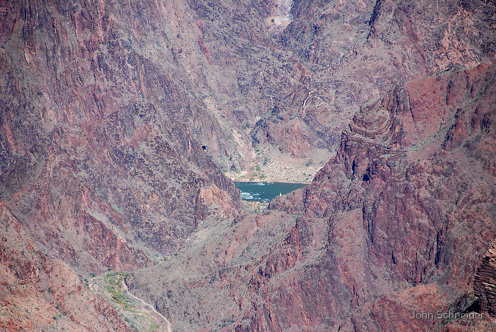 Colorado River, Grand Canyon by John Schneider