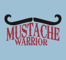 Mustache Warrior by Cheesybee
