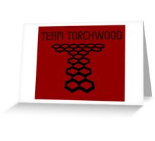 Torchwood sign  Greeting Card