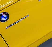 BMW Z4 xDrive20i Pure Impulse Logo Detail [ Print & iPad / iPod / iPhone Case ] by Mauricio Santana