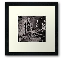 Passing Water Framed Print