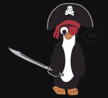 pirate penguin Kids Tee