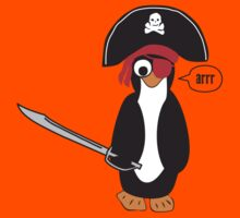 pirate penguin Kids Tee