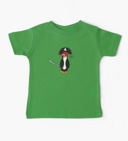 pirate penguin Baby Tee