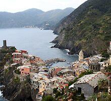 Cinque Terre by Andrea  Muzzini