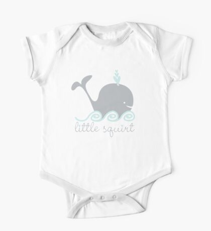 little squirt whale One Piece - Short Sleeve