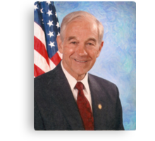 celebrities ron paul 3 Canvas Print