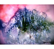Snow In The Hills.. Photographic Print