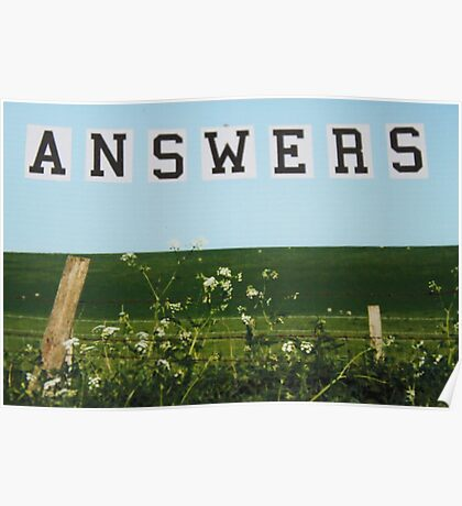 ANSWERS Poster