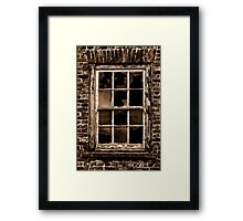 Single Glazing Framed Print