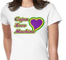Cajun Love Machine Womens Fitted T-Shirt