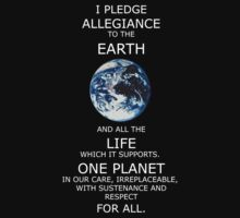 I Pledge Allegiance to the Earth by Patrick  Vedlog