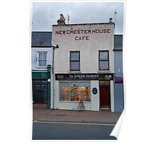 New Chester House Cafe Holyhead Wales Poster