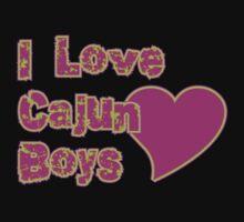 I Love Cajun Boys by HolidayT-Shirts
