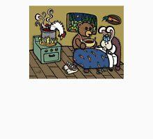 Teddy Bear And Bunny - The Flu Unisex T-Shirt