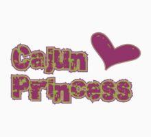Cajun Princess Baby Tee
