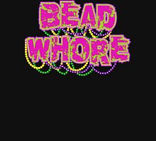 Mardi Gras Bead Whore Womens Fitted T-Shirt