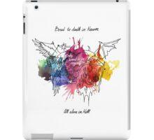 Bored in Heaven, Alone in Hell iPad Case/Skin