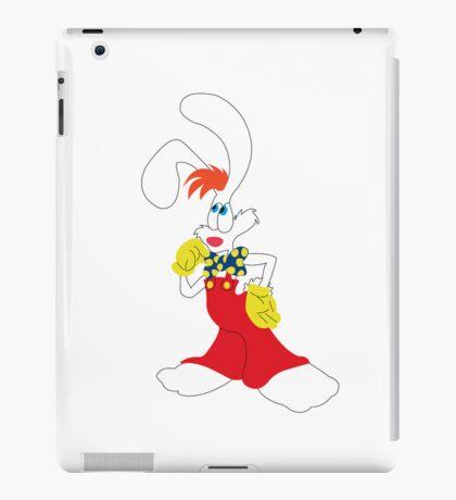 roger rabbit iPad Case/Skin
