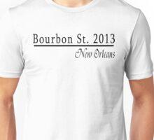 Mardi Gras Bourbon Street 2013 Unisex T-Shirt