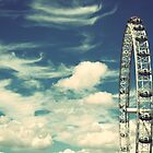 The London Eye by Chilla Palinkas