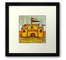 Sand Castle Framed Print