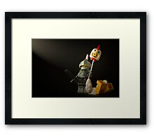 What do you call a chicken with it's head chopped off? Framed Print