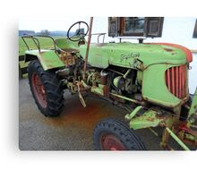 Tractor-Historic Canvas Print