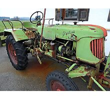 Tractor-Historic Photographic Print