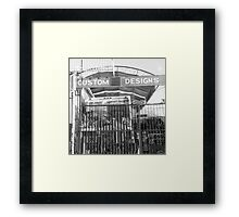 A day in L.A. Framed Print