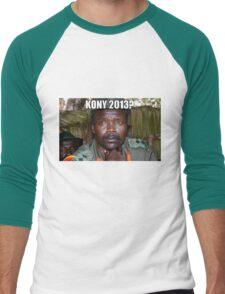 Kony 2013 Meme Shirt Men's Baseball ¾ T-Shirt