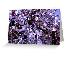 Silver-Cool Greeting Card