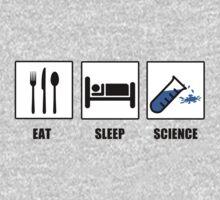 Eat Sleep Science Kids Clothes