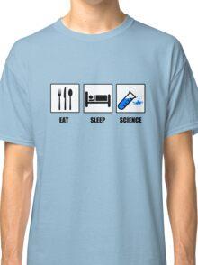 Eat Sleep Science Classic T-Shirt