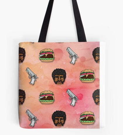 Pulp Fiction Big Kahuna Burger Pattern Tote Bag