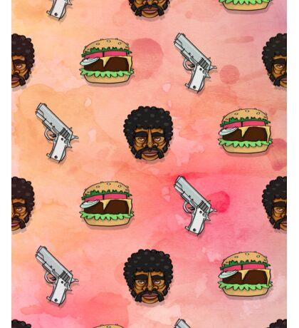 Pulp Fiction Big Kahuna Burger Pattern Sticker
