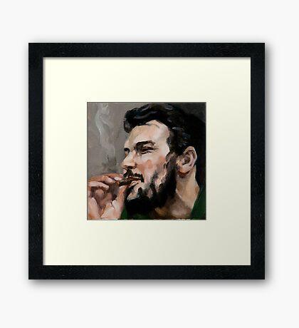 Che Cigarro Framed Print