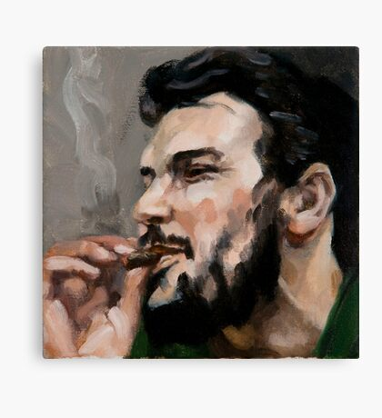 Che Cigarro Canvas Print