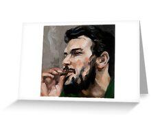Che Cigarro Greeting Card